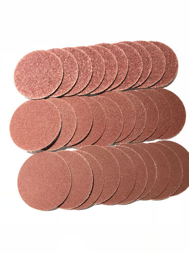 30 pcs. Adhesive sanding discs set (mixed)